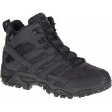 Merrell J15853 - Men's - Moab 2 Mid Tactical WP - Black