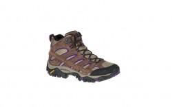 Merrell J06050W - Women's - Moab 2 Mid Vent - Bracken/Purple Wide