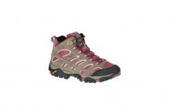 Merrell J06052 - Women's - Moab 2 Mid Waterproof - Boulder/Blush
