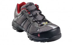 Nautilus 1343 - Men's - Athletic Steel Toe SD - Grey and Red