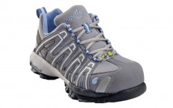 Nautilus 1391 - Women's - Atheltic Composite Toe SD - Grey and Periwinkle