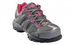 Nautilus 1393 - Women's - Athletic Steel Toe SD - Grey and Pink
