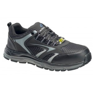 Nautilus 1570 - Men's - Tempest Low ESD Alloy Toe - Black-Grey