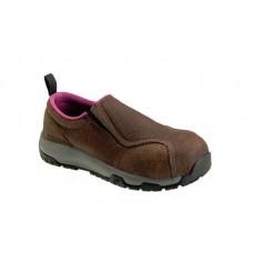 Nautilus N1647 - Women's - ESD Composite Toe Slip On - Brown
