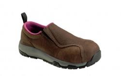 Nautilus 1647 - Women's - ESD Composite Toe Slip On - Brown