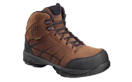 Nautilus 1845 - Men's - 6 Inch Waterproof Composite Toe ESD Hiker - Brown