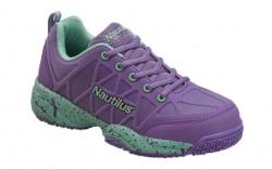 Nautilus 2157 - Women's - Composite Toe - Slip Resistant - Athletic Shoe - Purple