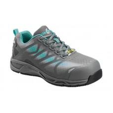 Nautilus 2485 - Women's - ESD Athletic Composite Toe - Grey/Aqua
