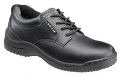 SkidBuster 5076 - Women's - Soft Toe - Slip Resistant - Water Resistant - Oxford - Black