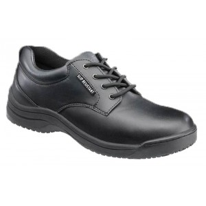 SkidBuster 5076 - Women's - Soft Toe - Slip Resistant - Water Resistant - Oxford - Black