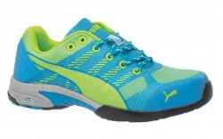 Puma 642905 - Women's - Celerity Knit Blue Low SD - Steel Toe Work Shoe