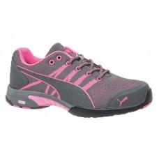 Puma 642915 - Women's - Celerity Knit Pink Low SD - Steel Toe Work Shoe