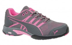 Puma 642915 - Women's - Celerity Knit Pink Low SD - Steel Toe Work Shoe