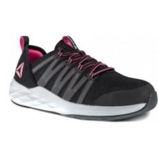 Reebok RB307 - Women's - Astroride Steel Toe Athletic Oxford - Black/Pink