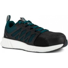 Reebok RB314 - Women's - Fusion Flexweave Work - Composite Toe - Teal and Black