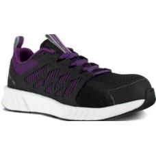 Reebok RB315 - Women's - Fusion Flexweave Work - Composite Toe - Black and Purple
