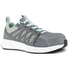 Reebok RB316 - Women's - Fusion Flexweave Work - Composite Toe - Grey and Mint Green