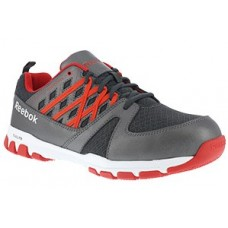 Reebok RB4005 - Men's - Sublite Work Micro Web Oxford - Grey and Red
