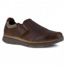 Rockport RK5710 - Men's - Primetime Casuals Slip On Steel Toe - Brown