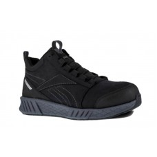 Reebok 4302 - Fusion Formidable Mid Composite Work Shoe - Black Grey