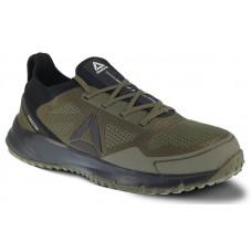 Reebok RB4092 - Men's - Steel Toe - All Terrain Athletic Work Shoe - Sage and Black