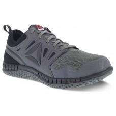Reebok RB4252 - Men's - Steel Toe - Zprint Athletic Work Shoe - Dark Grey and Black