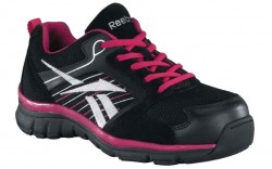 Reebok RB454 - Women's - Anomar Black and Pink with Silver Trim