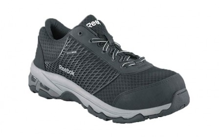 Reebok RB4625 - Men's - Heckler Seamless Athletic Oxford with Nanoweb Composite Toe - Black