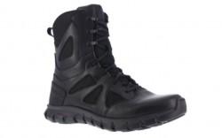 """Reebok  RB8806 - Men's - Composite Toe - Duty 8"""" Tactical  Boot - Waterproof - Black"""