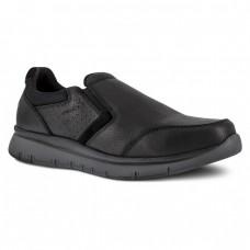 Rockport RK5715 - Men's - Primetime Casuals Slip On Steel Toe - Black