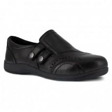 Rockport RK761 - Women's - Daisy Slip On Alloy Toe - Black
