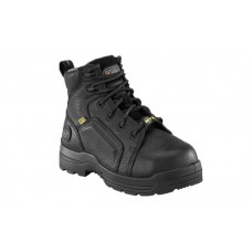 Rockport RK465 - Women's - More Energy 6 Inch Lace toe Toe Internal Met Guard Composite Toe - Black