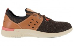 Rockport RK4690 - Men's - Truflex Work - Composite Toe - Brown and Tan