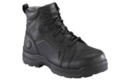 Rockport RK635 - Women's - More Energy 6 Inch Lace to Toe Waterproof Composite Toe Boot - Black
