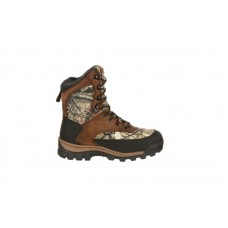 Rocky 4755 - Men's- Core Waterproof 800G Insulated Outdoor Boot - Brown/Mossy Oak