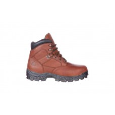 Rocky RKK0190 - Men's - Alpha Force Steel Toe Puncture Resistant Waterproof Work Boot - Brown