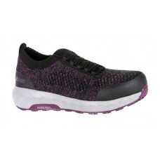 Rocky RKK0273 - Women's - WorkKnit Alloy Toe - Black Purple