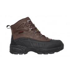 Skechers 77050bkbr - Men's - Waterproof Steel Toe Boot - Black/Brown