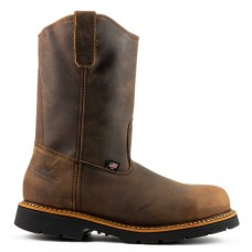 "Thorogood 804-3310 - Men's - 11""   Pull-on Wellington Maxwear90 Stele Toe - Trail Crazyhorse"