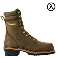 "Thorogood 804-3654 - Men's - 9""  - Logger Series - Waterproof-  Compost Toe  - Studhorse Brown"
