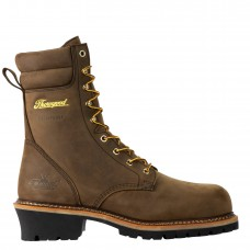 "Thorogood 804-3655 - Men's - 9""  - Logger Series - Insulated Waterproof-  Compost Toe  - Studhorse Brown"