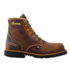 "Thorogood 804-3696 - Men's - 6""- 1957 Series - Moc Toe - Maxwear90 - Waterproof- Steel Toe - Crazyhorse"