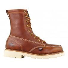 "Thorogood 804-4308 - Men's - 8"" American Heritage  Moc Toe Maxwear Wedge - Steel Toe - Tabacco"
