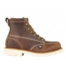 "Thorogood 804-4375 - Men's - 6"" American Heritage Moc Toe Maxwear 90 Steel Toe - Trail Crazyhorse"