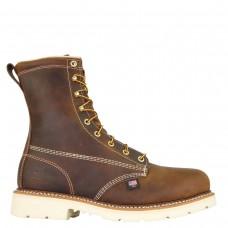 "Thorogood 804-4379 - Men's - 8"" American Heritage  Plain Steel Toe - Trail Crazyhorse"