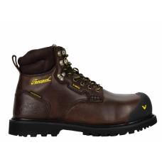 "Thorogood 804-4486 - Men's -  6"" - Metatarsal Guard I-Met2  - Waterproof-  Compost Toe  -Black Walnut"