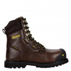 "Thorogood 804-4488 - Men's -  8"" - Metatarsal Guard I-Met2  - Waterproof-  Compost Toe  -Black Walnut"