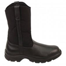 """Thorogood 804-6111 - Men's - 10"""" Soft Street Series Wellington Steel Toe - Black"""