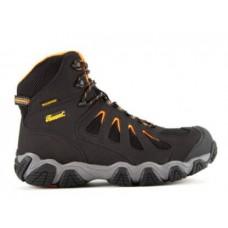 Thorogood 804-6296 - Men's - 6' CrossTrex Series Waterproof Mid Cut Composite Toe Hiker - Black/Orange