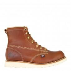 Thorogood 814-4355 - Men's - 6: American Heritage Plain Toe MaxWear Wedge Non-Safety Toe - Tabacco